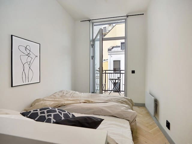 Svært sentral og Koselig leilighet med balkong