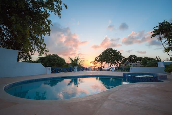 Pool Side at Windance Villa