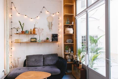 Cosy loft in trendy Canal St Martin