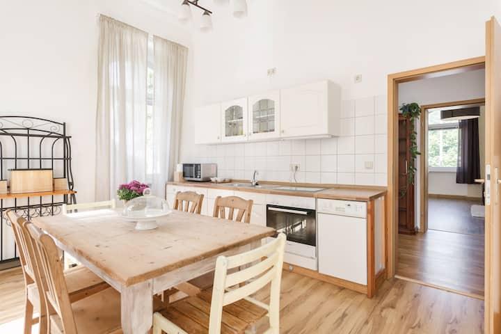 Bright & spacious apartment (165 qm) in Meissen