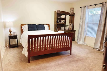 Private 1BR Guest Suite, Mins Drive From Airport