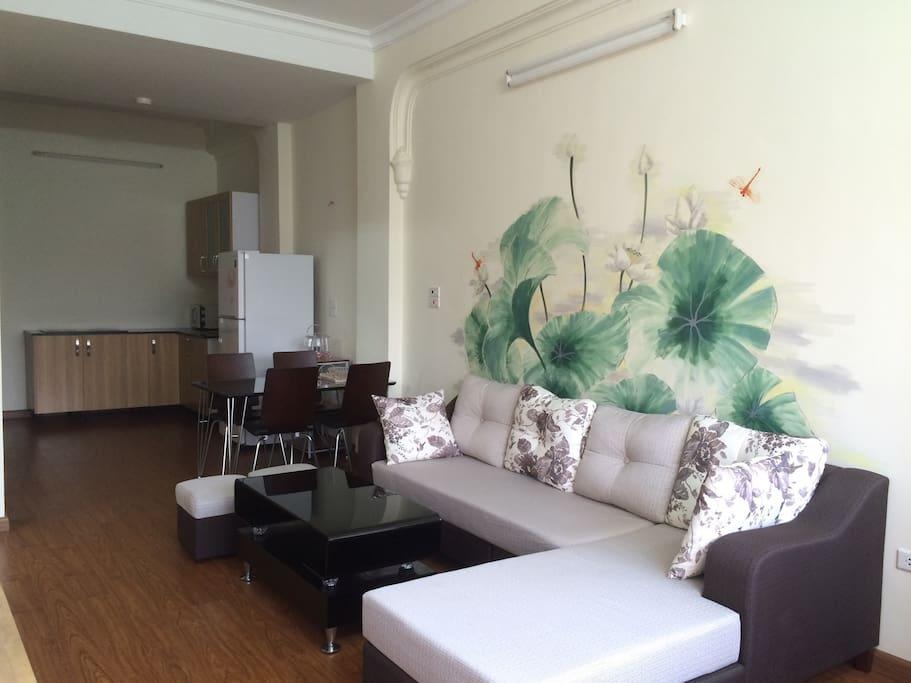Fresh & bright living room