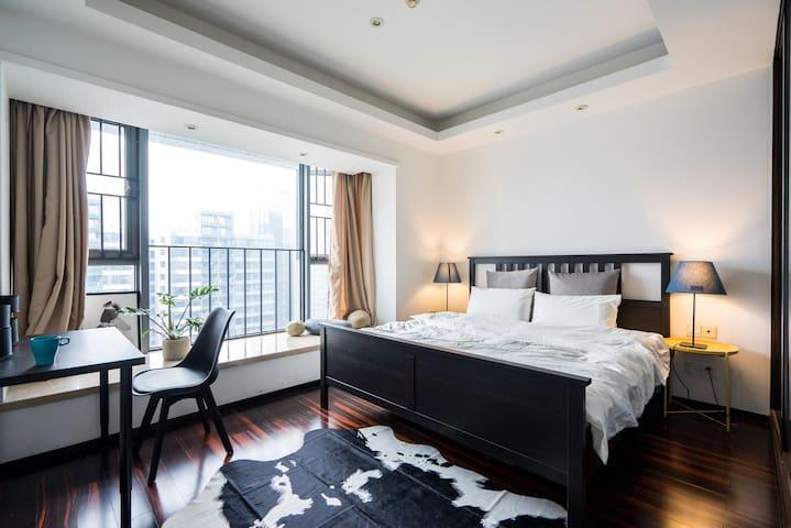 AirFamily 珠江新城CBD高端住宅 猎德地铁上盖 望广州塔西塔 - Guangzhou - Apartment