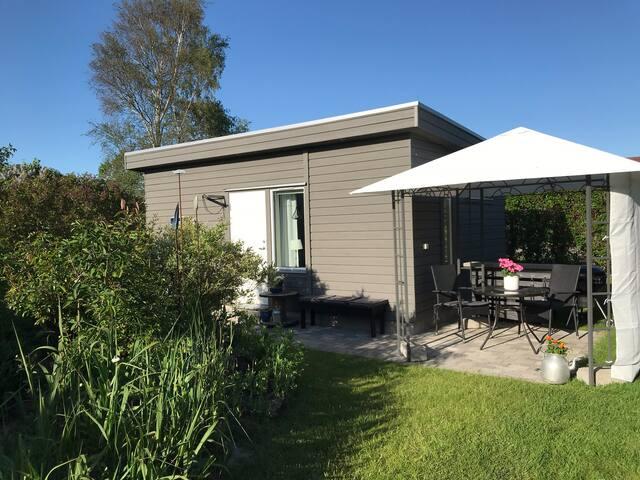 Mysigt boende i Åsa nära havet