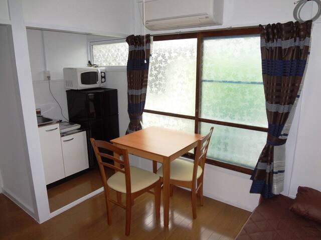 House YanakaB201, private room with mini kitchen - Taitō-ku - Apartament