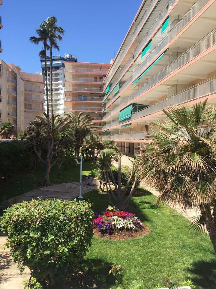 Apartamento primera linea de playa de Gandia.