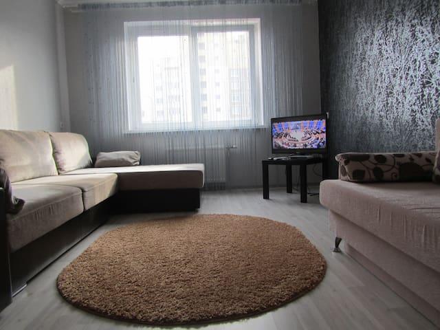Уютная однокомнатная квартира на  сутки, недели.