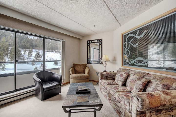 Cozy Ski-In/Ski-Out Breckenridge Condo with Kitchenette! Beaver Run 4516