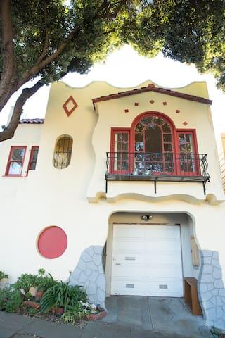 Sunny House Near Everywhere For Many SF Travelers! - San Francisco - House