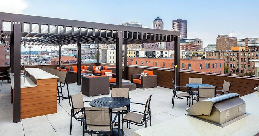 Luxury in Downtown Des Moines