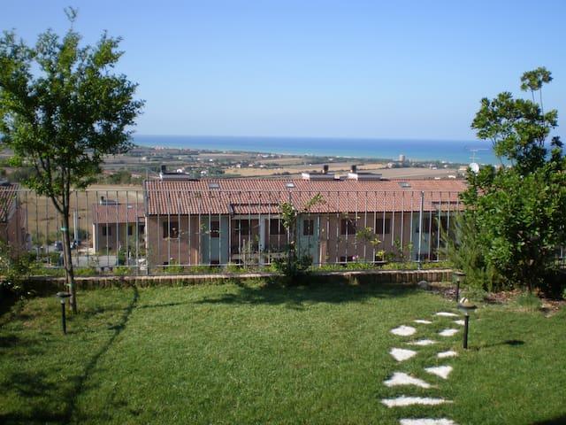 Stupenda casa vista mare sull'adriatico