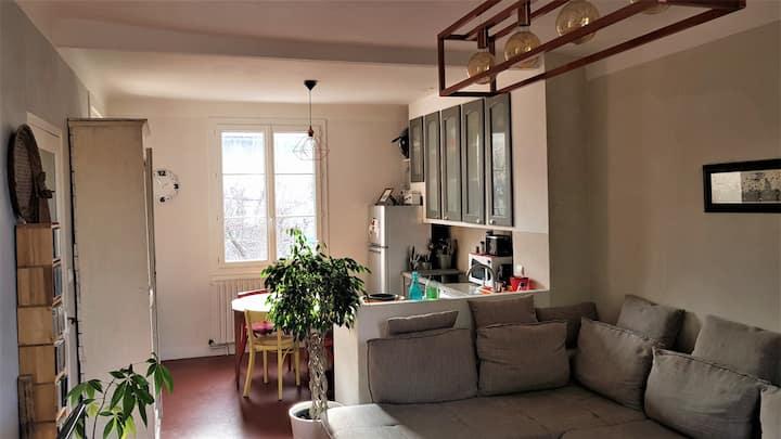 Maison & jardin au calme, à 400m du cœur d'Avignon