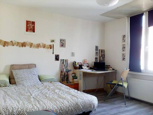Chambre à louer dans colocation à Lille Fives