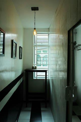 YESIDo-黑白个性经典双人 -迷你吧走廊