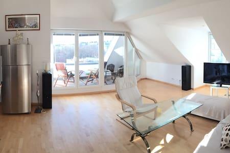 Möblierte 4 Zi.-Wohnung -Schwabing - Monachium