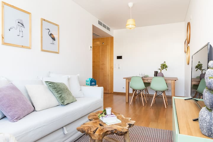 Stylish 1 bedroom apartment near Laranjeiras