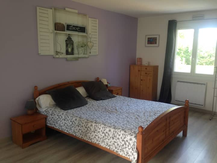 Bedroom near National Golf