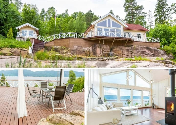 Beautiful seafront cabin