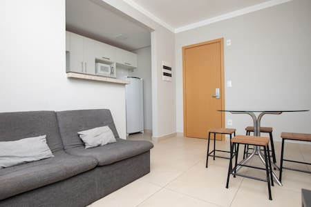 Two bedrooms - New, furnished and complete!