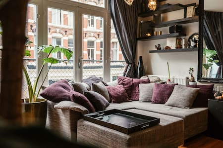 Romantic apartment for 2 in the heart of Amsterdam - Amszterdam - Lakás