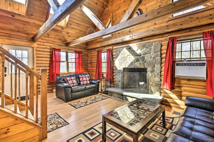 Secluded, Pet-Friendly Cabin w/ Deck & Fireplace!