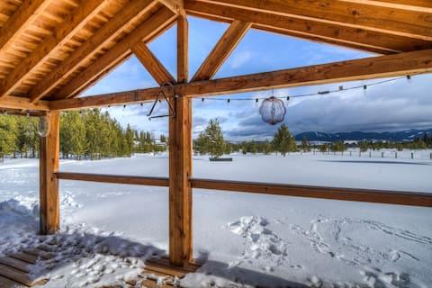 Merry Moose Chalet at Georgetown Lake