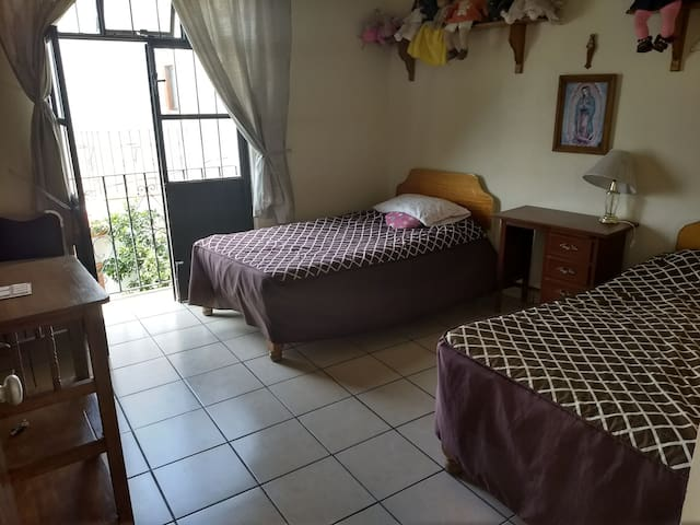 Habitaciónes cómodas y un lugar seguro