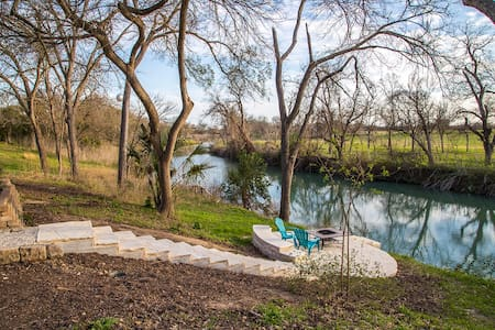 Historic Getaway on the San Marcos - Martindale - House