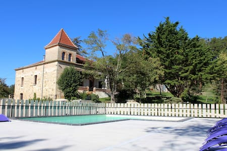 Lodge sur domaine, piscine et Spa - Molières