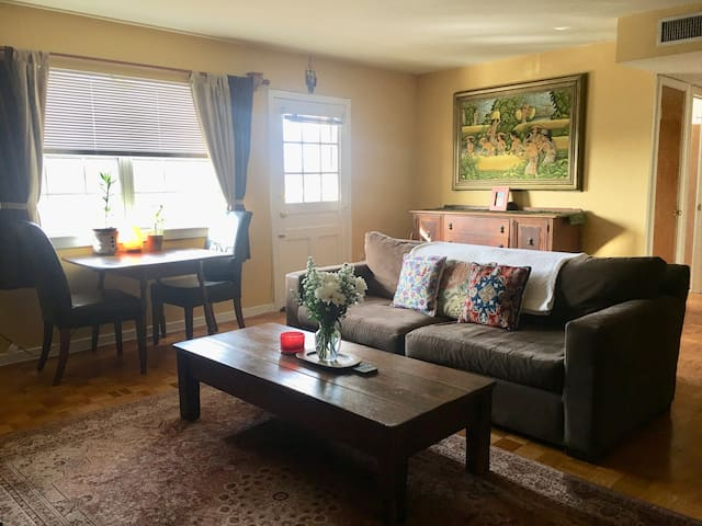 Entire Cozy Apt! Great Location! Near Metro!