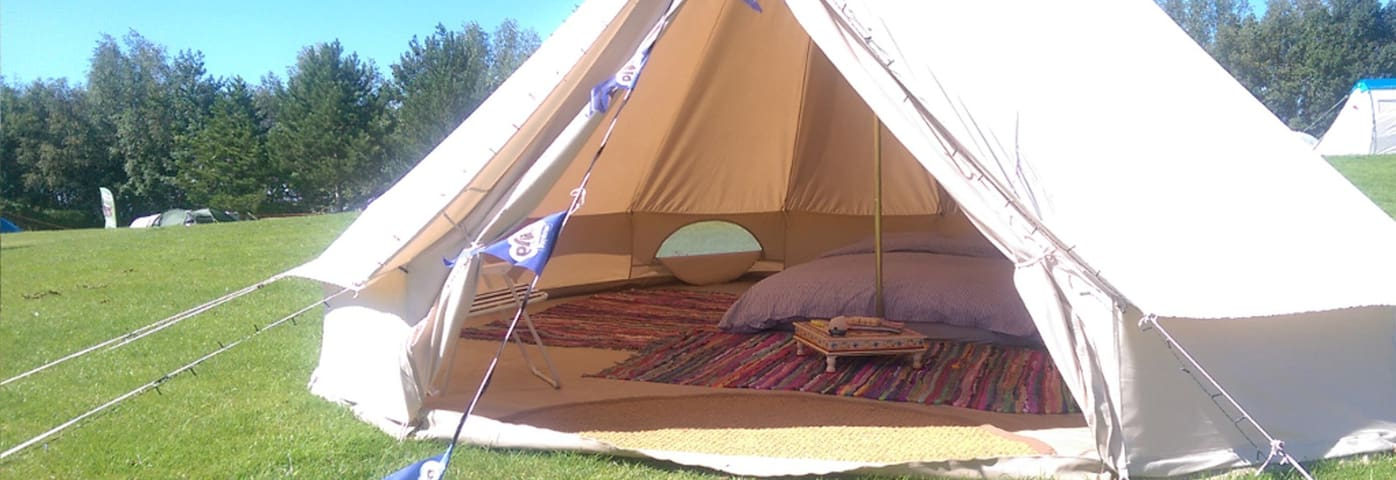 Luxury Bell Tent EdinburghFestivalCamping