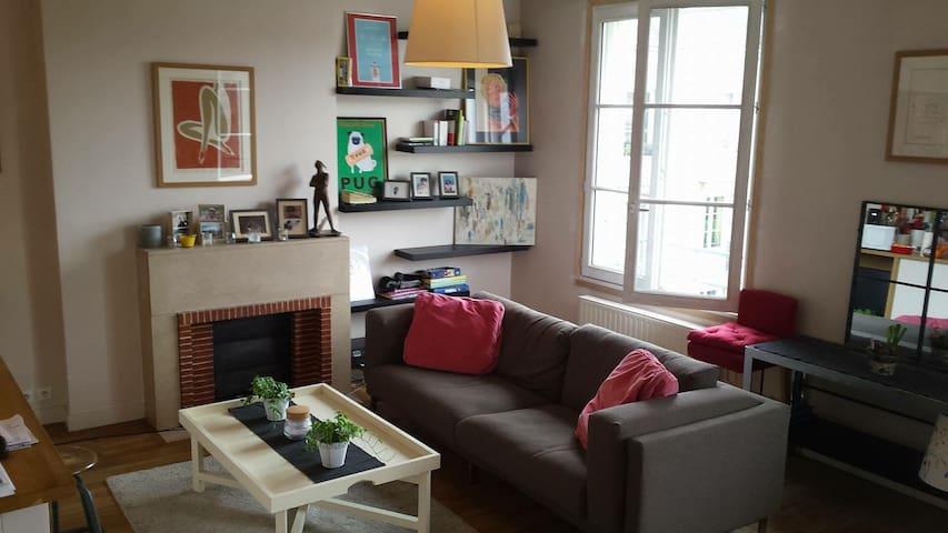 Bel appartement, centre ville Tours - Tours - Apartmen