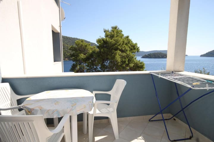 One bedroom apartment near beach Pasadur, Lastovo (A-8337-c)