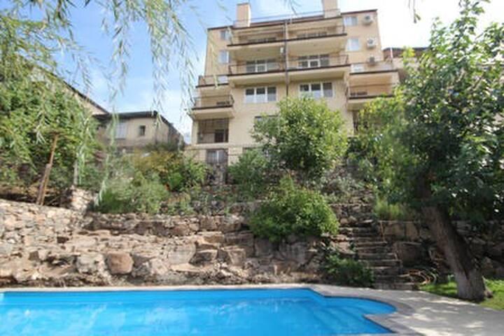 Apartment with pool  , Квартира с бассейном