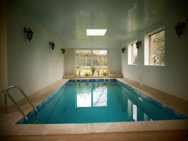 House w/ heated pool near Giverny - Fourges - House