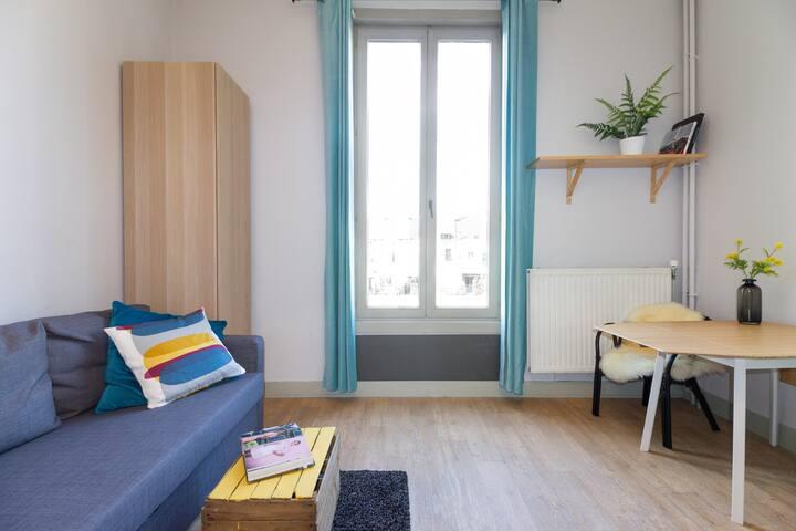 Parkview Studio in city centre - Gante - Apartamento