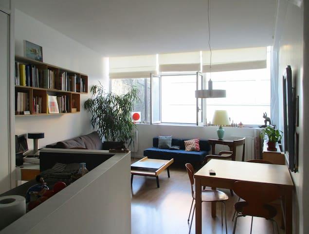 Loft lumineux dans le quartier de Charonne