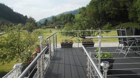 Moderne Ferienwohnung Simonswald - Oberer Felsen -