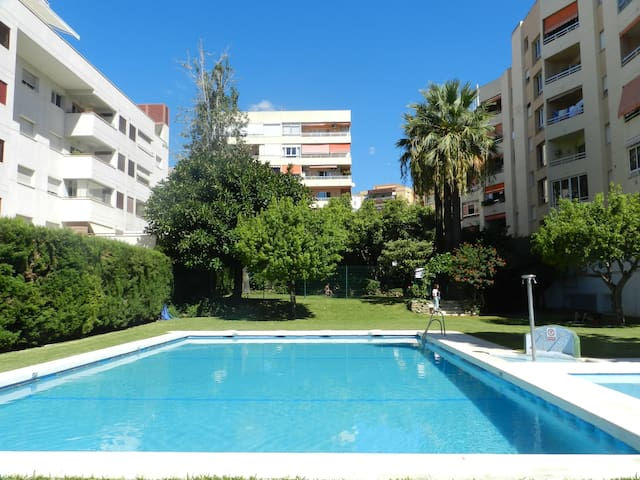 Confortable apartment close to the beach, 150m.