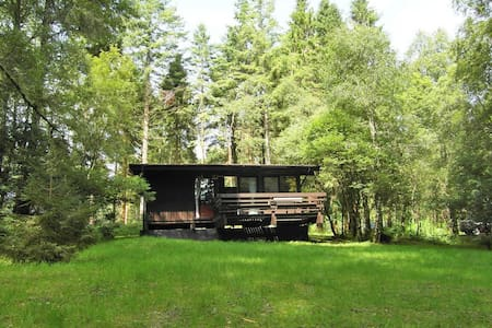 Secluded Forest Lodge with Hot Tub - Dalavich - Kulübe