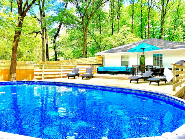 *SUMMER SALE_Haralson_3bdrm(4beds)*HotTub+Pool*