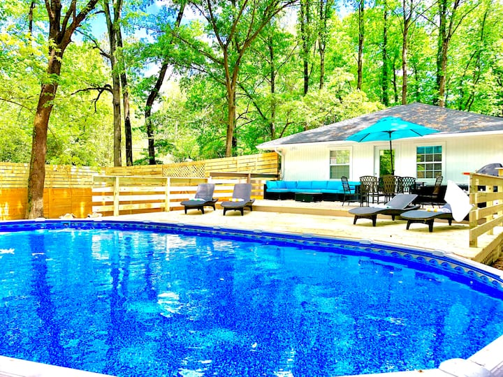 *Haralson_Modern 3bdrm(4beds)House*HotTub&Pool*