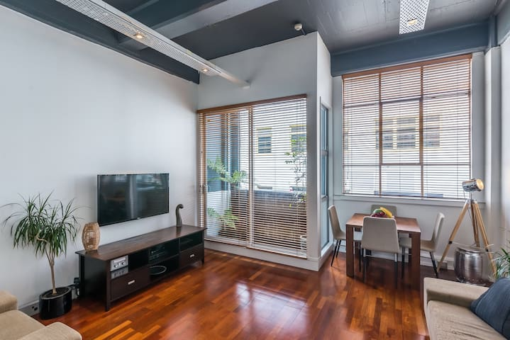 Central-City Loft Apartment - Wellington - Byt