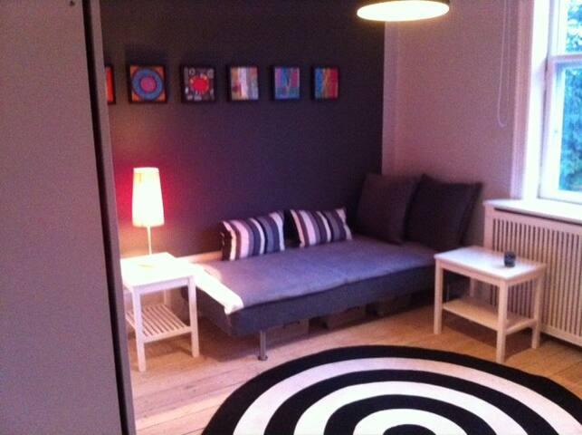 Værelse på 15 m2 i gammel villa i Charlottenlund - Charlottenlund