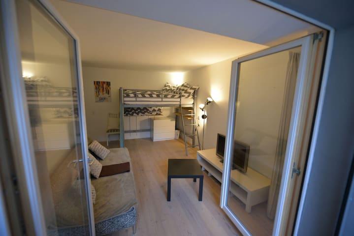 Cozy & Central Studio in Zermatt - Zermatt - Leilighet