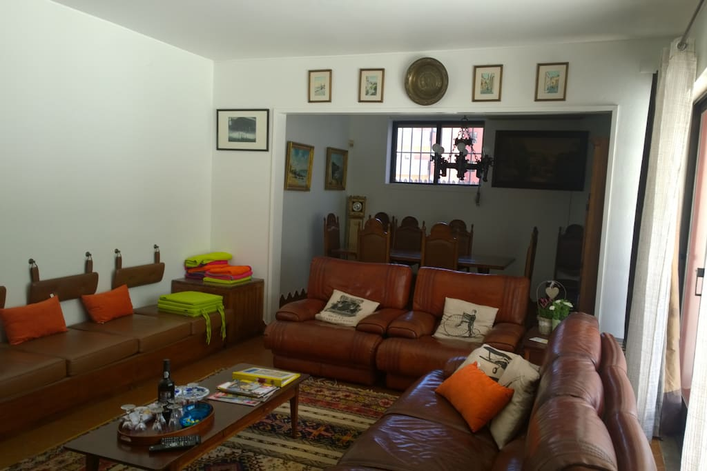 living room and dinning table