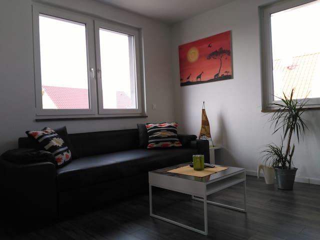 76879 Essingen 2 ZKB 63 qm Neubau - Essingen - Wohnung