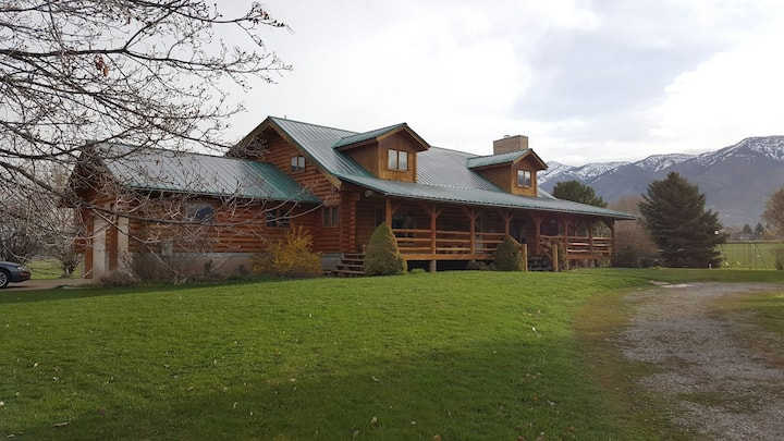 Grammy's Log Cabin Mountain Views!