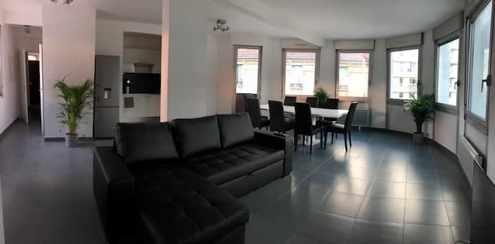 Appartement 110m2 au centre de Cusset