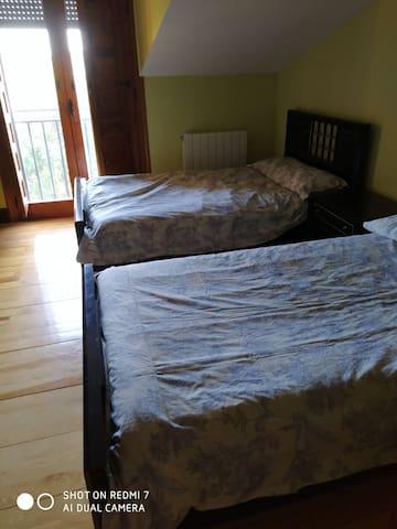 Habitación para 2 personas.